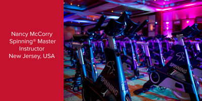 Nancy McCorry, Spinning® Master Instructor | New Jersey, USA