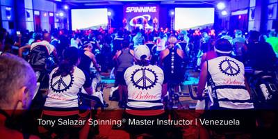Tony Salazar, Spinning® Master Instructor   Venezuela