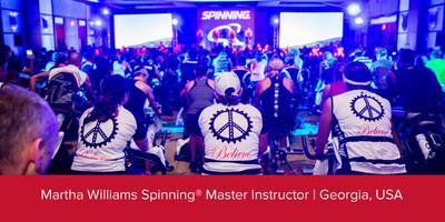 Martha Williams, Spinning® Master Instructor | Georgia, USA