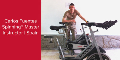 Carlos Fuentes, Spinning® Master Instructor | Spain