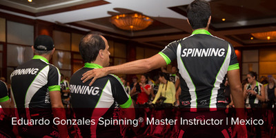 Eduardo Gonzales, Spinning® Master Instructor | Mexico