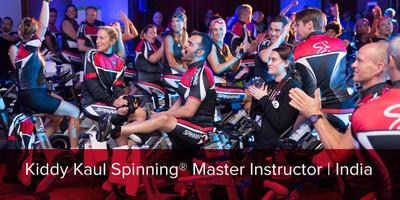 Kiddy Kaul, Spinning® Master Instructor | India