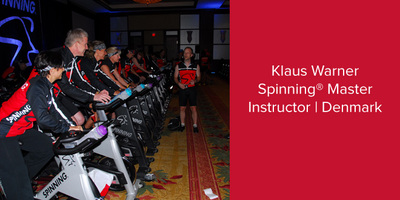Klaus Warner, Spinning® Master Instructor | Denmark