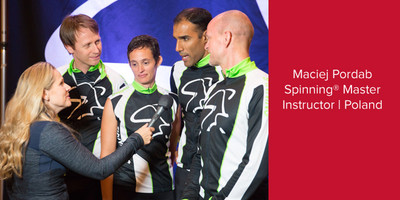 Maciej Pordab, Spinning® Master Instructor | Poland