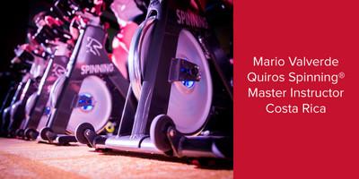 Mario Valverde Quiros, Spinning® Master Instructor | Costa Rica