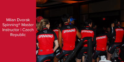 Milan Dvorak, Spinning® Master Instructor | Czech Republic