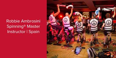 Robbie Ambrosini, Spinning® Master Instructor | Spain