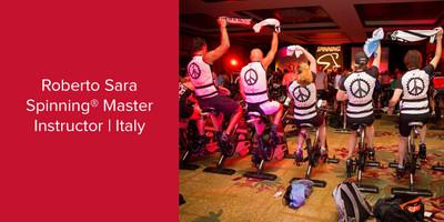 Roberto Sara, Spinning® Master Instructor | Italy