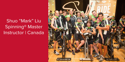 "Shuo ""Mark"" Liu, Spinning® Master Instructor | Canada"