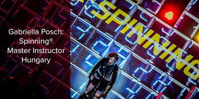 Gabriella Posch, Spinning® Master Instructor | Hungary