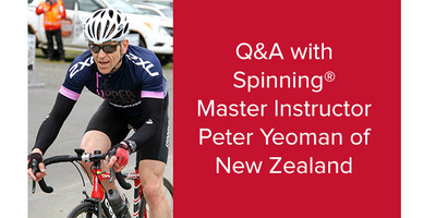 Q&A with Spinning® Master Instructor Peter Yeoman