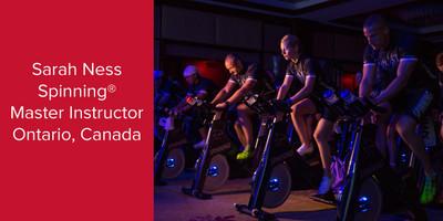 Sarah Ness, Spinning® Master Instructor | Ontario, Canada