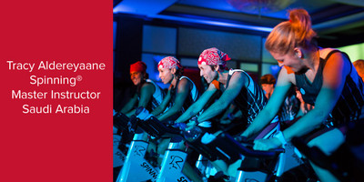 Tracy Aldereyaane, Spinning® Master Instructor | Saudi Arabia