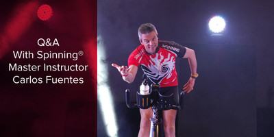 Q&A with Spinning® Master Instructor Carlos Fuentes | Spain