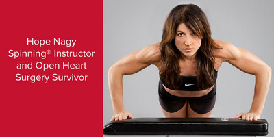 Hope Nagy | Certified Spinning® Instructor and Open Heart Surgery Survivor