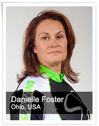 Danielle Foster, Spinning® Master Instructor and Power Specialist Master Instructor | Ohio, USA