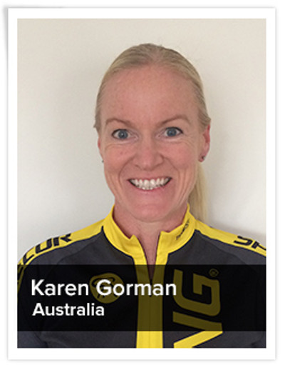 Karen Gorman, Spinning® Master Instructor | Australia