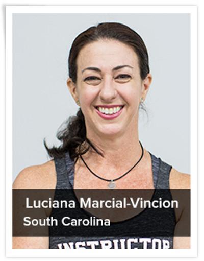 Luciana Marcial-Vincion, Spinning® Master Instructor| South Carolina, USA