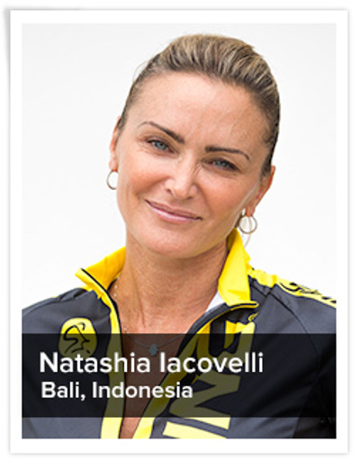 Natashia Iacovelli, Spinning® Master Instructor | Bali, Indonesia