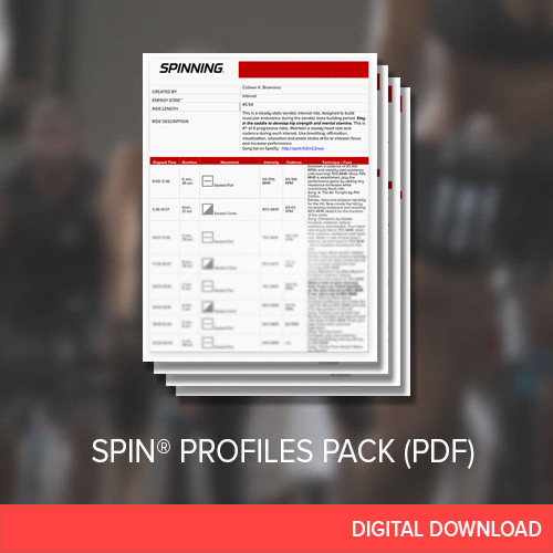 SPIN® Profiles (4 Pack) - March 2017