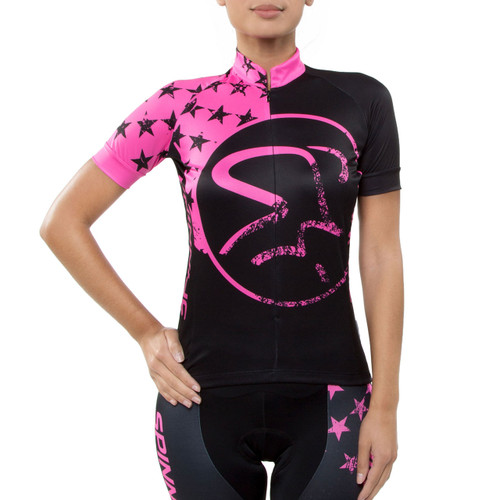 Spinning® Gemini Women's Cycling Jersey Pink