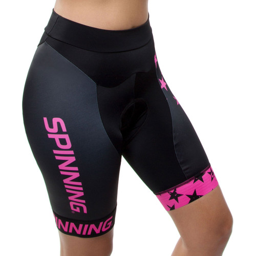 Spinning® Gemini Women's Cycling Shorts Pink
