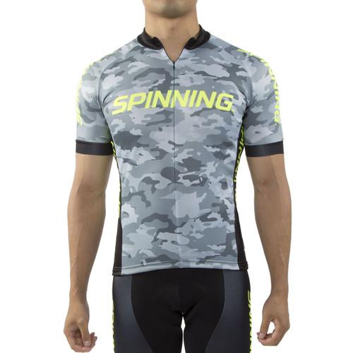 Spinning® Hercules Men's Cycling Jersey Yellow