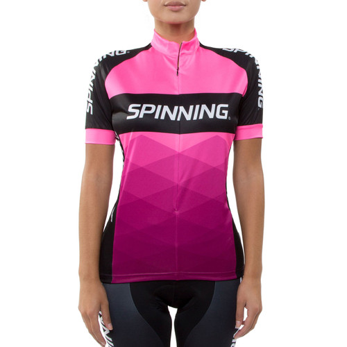 Spinning® Orion Women's Cycling Jersey Pink