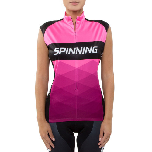 Spinning® Orion Women's Sleeveless Cycling Jersey Pink