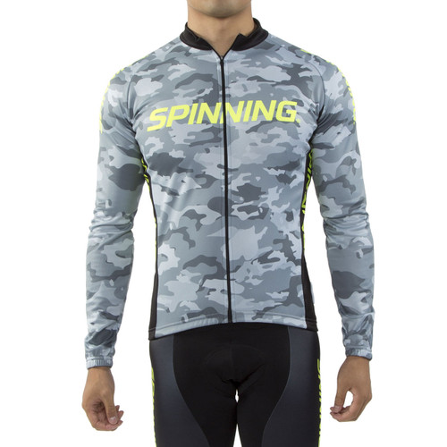 Spinning® Hercules Men's Cycling Jacket Yellow