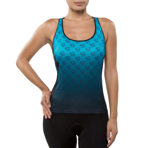 Spinning® Taurus Women's Cycling Donna Top Turqouis