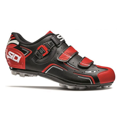 Men's SIDI® Buvel MTN Black and Red Shoes