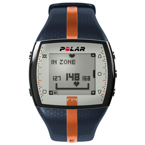 Polar® FT4M Mens Blue/Orange