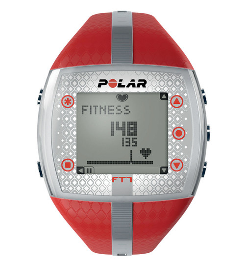 Polar® Women's FT7F Red/Silver