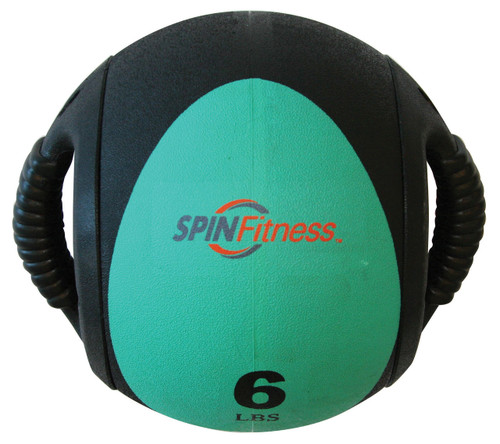 SPIN Fitness® Dual Grip Medicine Ball 6lb