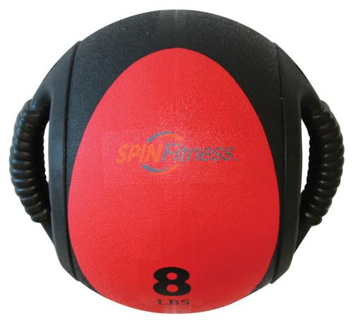 SPIN Fitness® Dual Grip Medicine Ball 8lb
