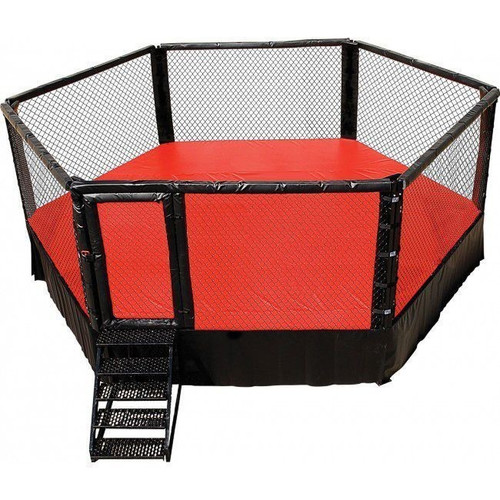 PRO MMA® Elevated Competition Cage 20 X 20 Hexagon Series