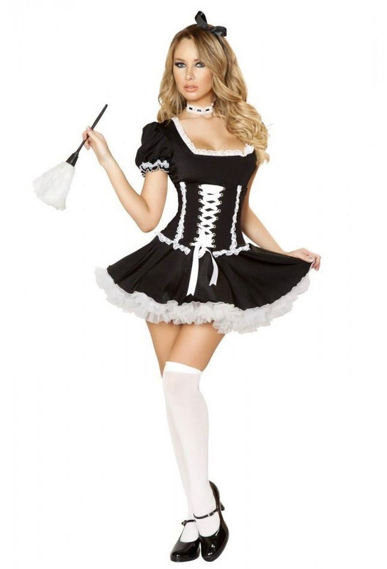 Mischievous French Maid Costume