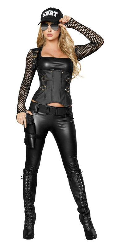 Sexy SWAT Agent Costume