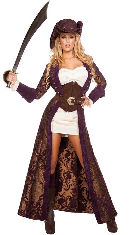Decadent Pirate Diva Costume