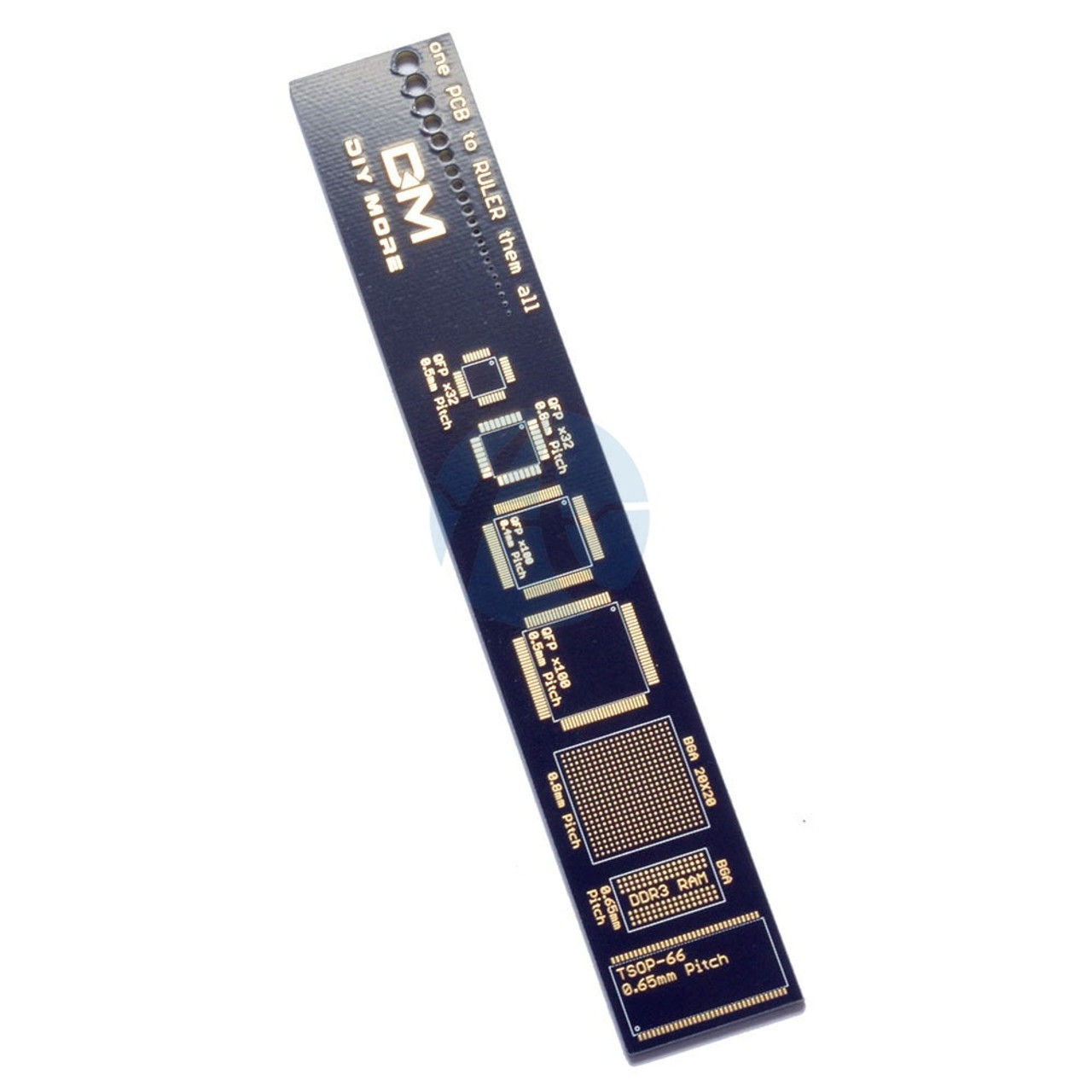 Pcb Ruler For Electronic Engineers Geeks Makers Arduino Fans Antietching Circuit Board Ink Marker Pen Diy Reference Packaging