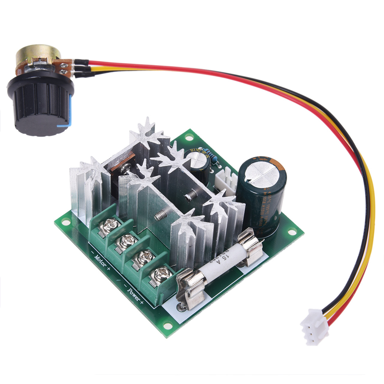 6V-90V 15A Pulse Width PWM DC Motor Speed Controller - Pixel ...