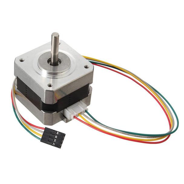 Nema 17 Stepper Motor bipolar 4 leads 34mm 12V 1.5 A 26Ncm(36.8oz.in) 3D printer motor 42SHD0001
