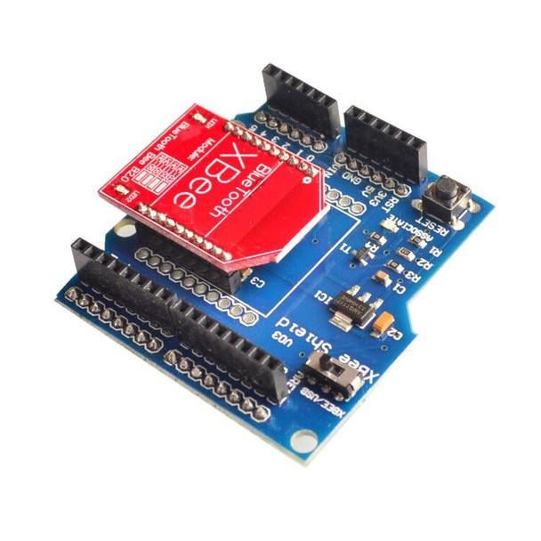RF Wireless Bluetooth Bee V2.0 Module + Xbee V03 Shield Board