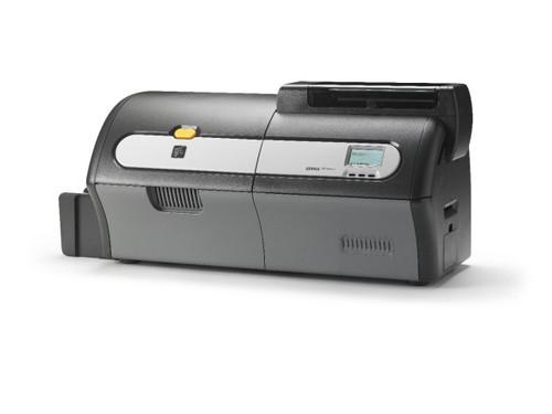zebra zxp series 7 card printer - right side view