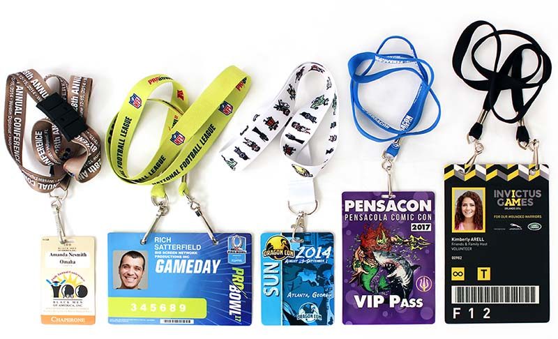 printed credential assortment images