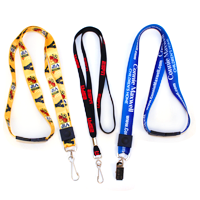 custom printed lanyards for ID cards