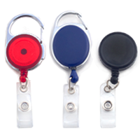 retractable id badge reels