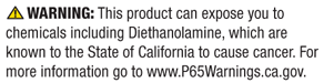 Click here for more information on what California considers clear and reasonable warnings.