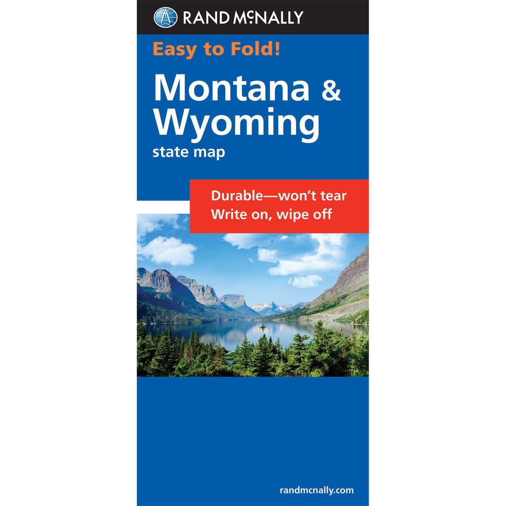 Easy To Fold: Montana, Wyoming